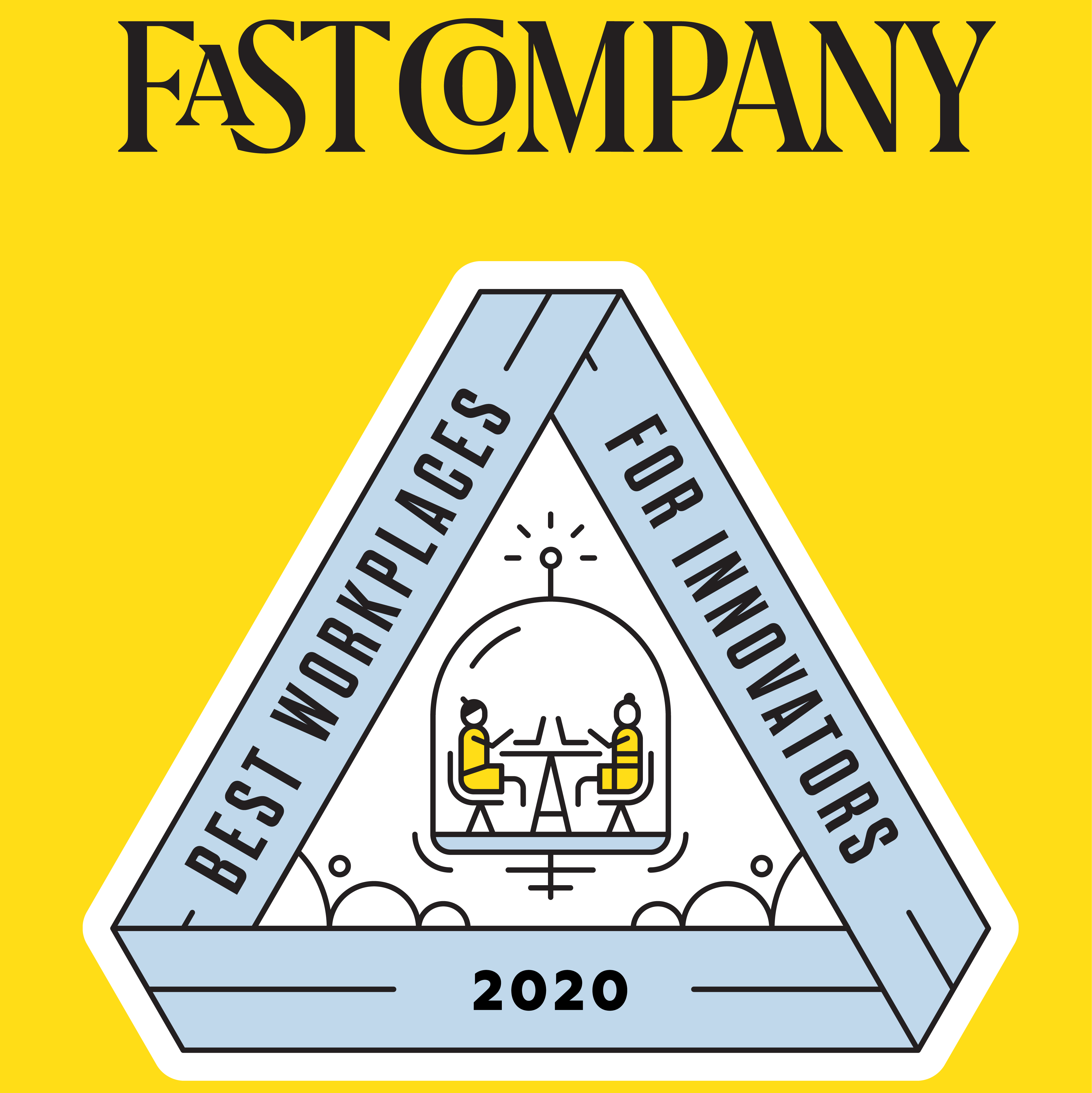 Fast Company Best Places to Work 2020 Badge