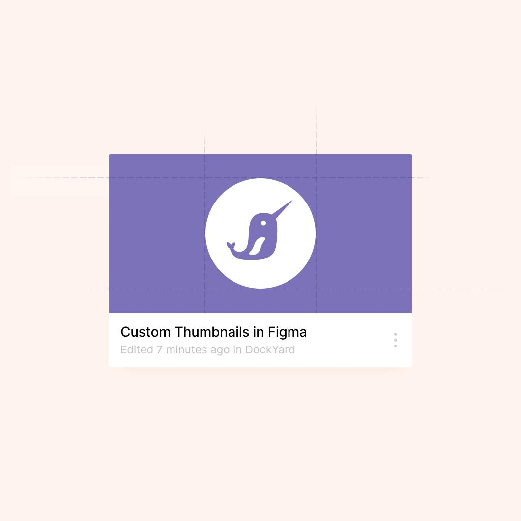Custom thumbnail of the DockYard logo created with Figma, a collaborative design tool